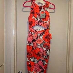 ASOS- Midi Pencil Floral dress